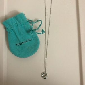 Tiffany Co. Circle Necklace